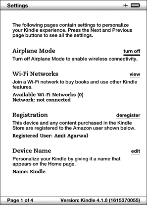 Airplane_Mode en Kindle