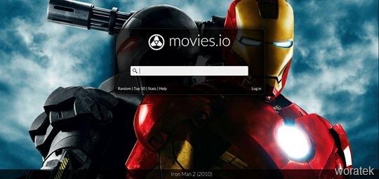 Movies.io películas