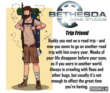 Empresas de videojuegos como amigos de la vida real