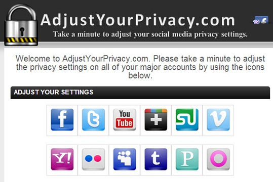 02-11-2012 Adjust your privacy