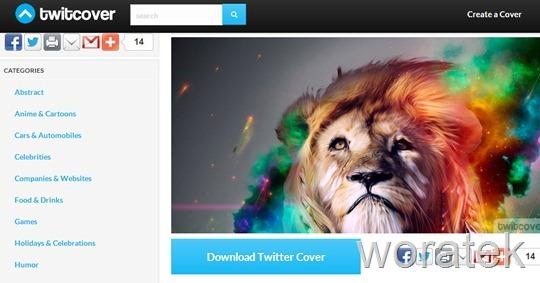 3 sitios para descargar portadas para Twitter