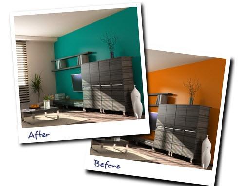 Colorjive como elegir un color para pintar las paredes de - Pintar las paredes de casa ...