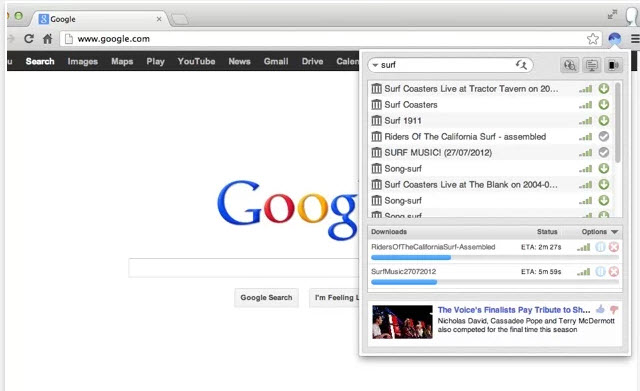 BitTorrent Surf, descargar torrents en Chrome