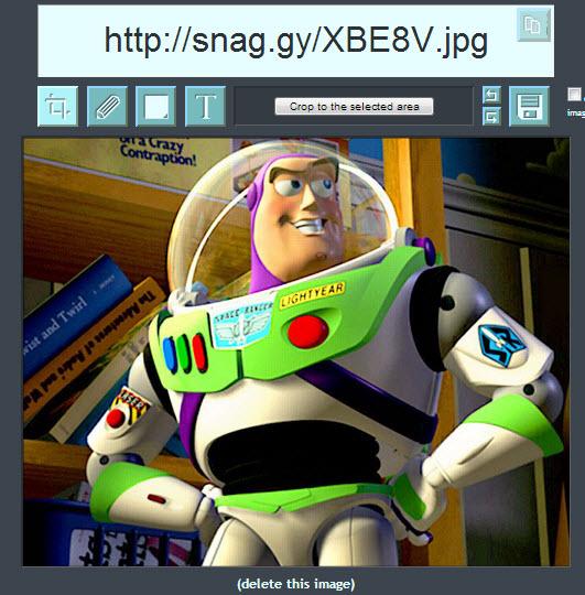 Snag.gy, subir imágenes con solo copiar y pegar