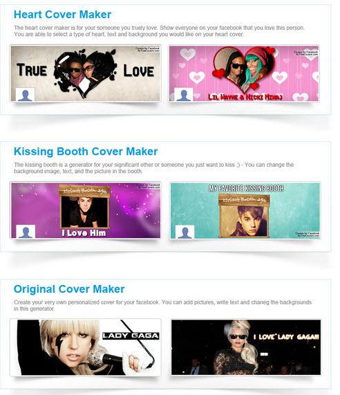 Editores para hacer portadas personalizadas de Facebook