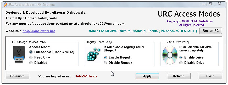 Bloquear escritura en memorias USB o CD para proteger Pc de robos de datos