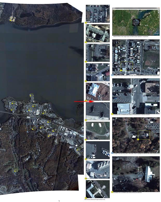 ARGUS-IS, sistema de vídeo-vigilancia con cámaras de 1.8 gigapíxeles