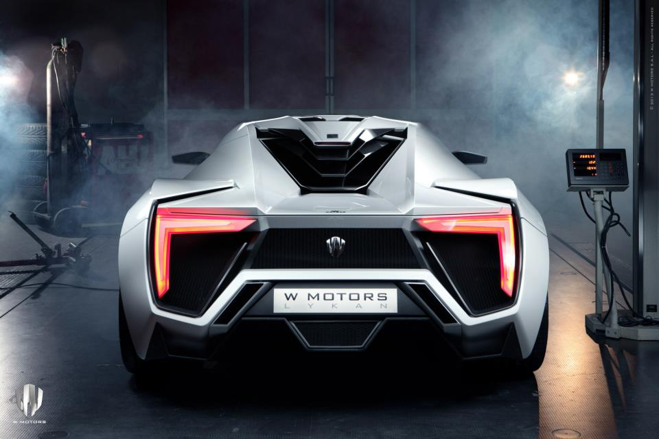 Lykan Hypersports, el auto deportivo más caro del mundo [Fotos]