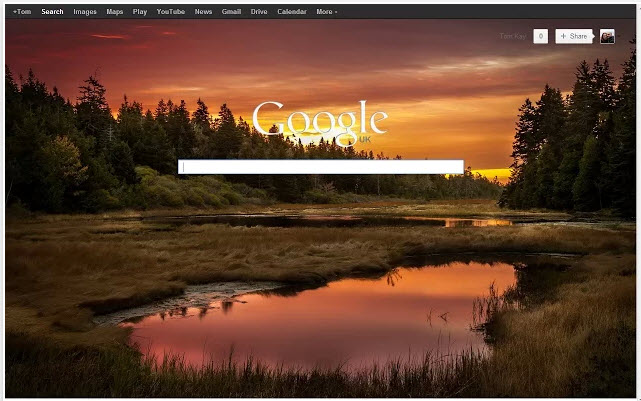 Personalizar buscador de Google con fondos de pantalla [Chrome]