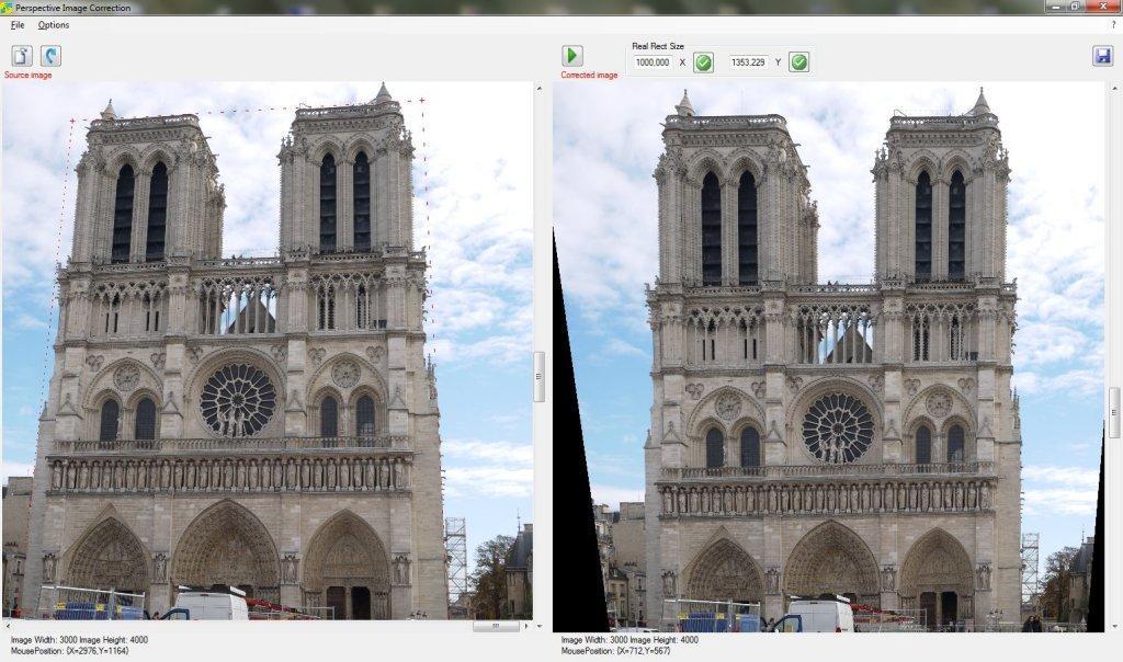Corregir ángulo y perspectiva de fotos