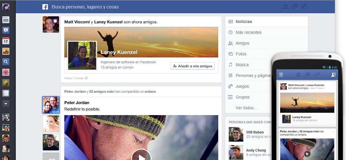 Facebook 2013, conoce el renovado Timeline y portada de Facebook