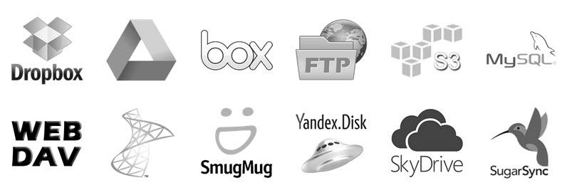 Transferir archivos entre servicios de almacenamiento online
