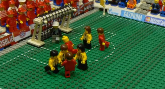 Final Champions League 2013 en Lego