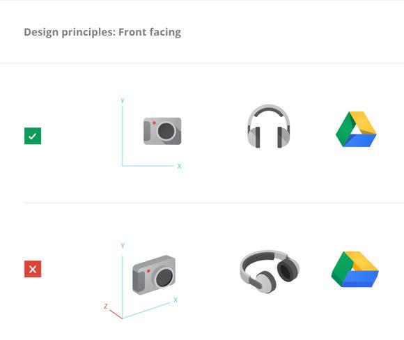 Estilo de diseño de logos de Google