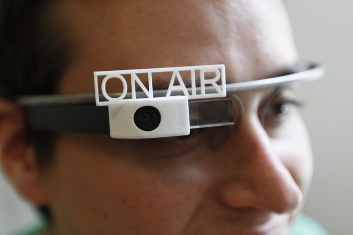 Google glass accesorios