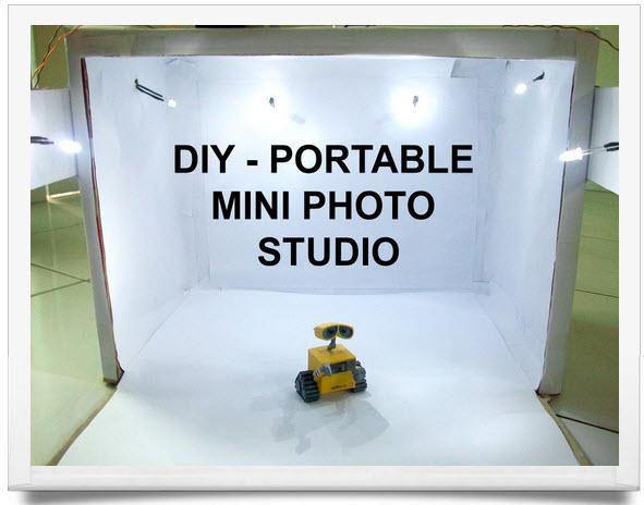 Estudio fotográfico portátil caja de luz