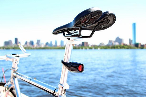 Luces de bicleta posteriores que duran para siempre