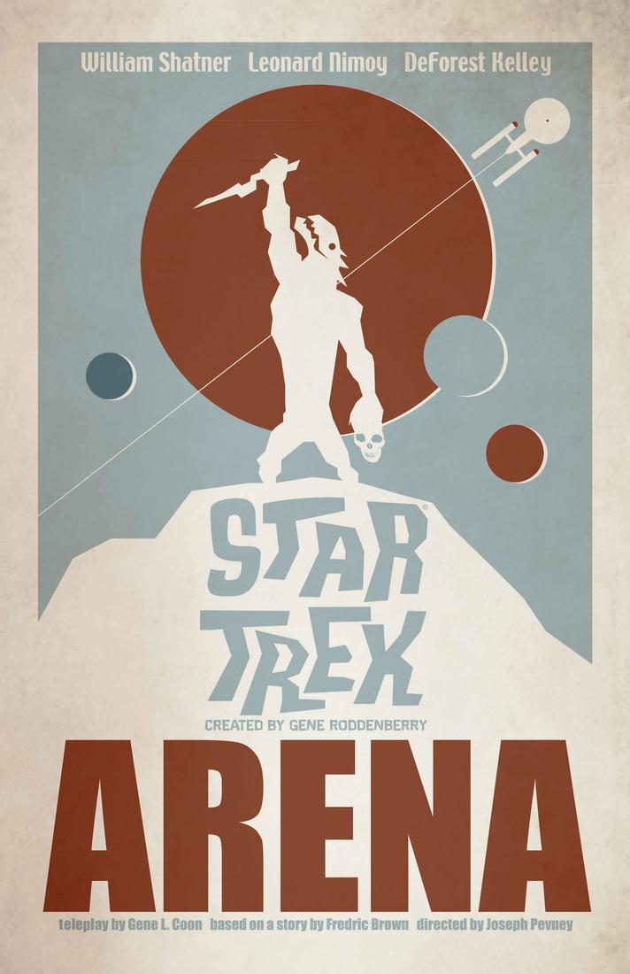 Posters vintage Star trek