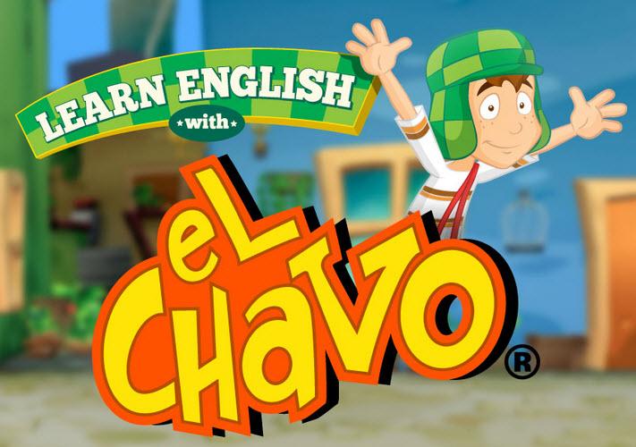 Aprender inglés para niños con el chavo del 8