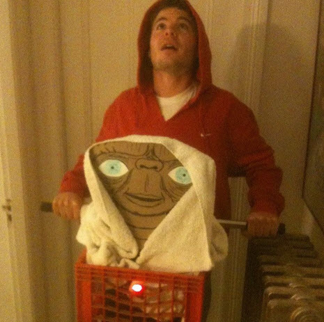 Disfraz de ET el extraterrestre para Halloween