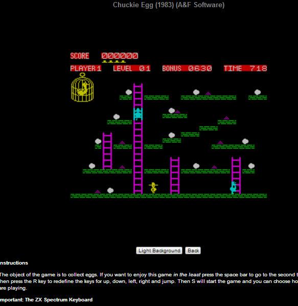 Jugar videojuegos antiguos desde internet