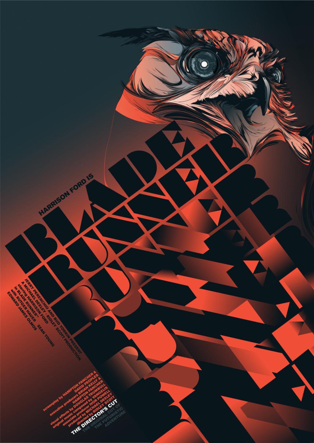 Póster de Blade Runner arte
