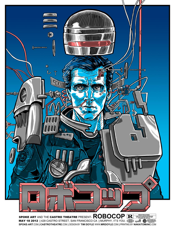 Pósters de películas  Robocop