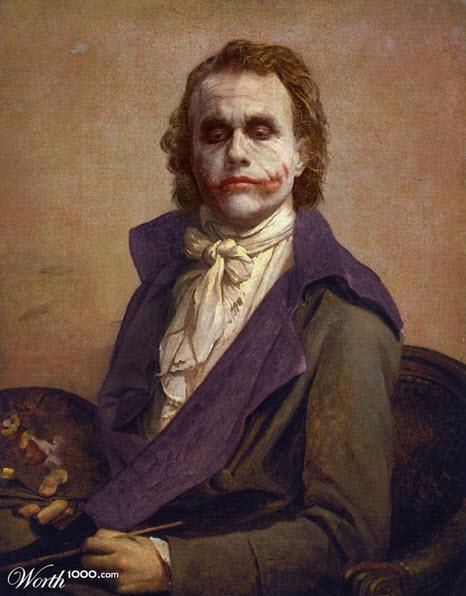 Pintura de The Joker de Batman