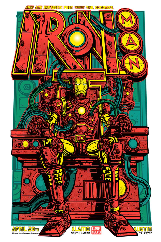 Poster de Iron Man arte