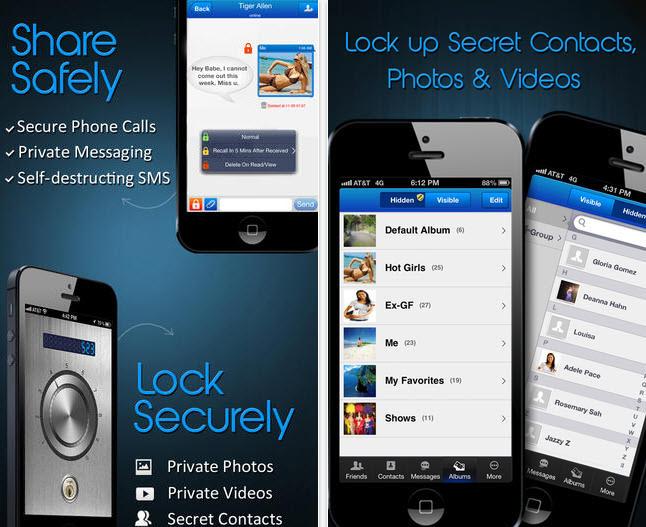 Privacidad y seguridad en llamadas teléfono y mensajes iPhone