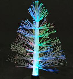 Arbol de navidad de luces un poco de cartn colores y - Arbol navidad led ...