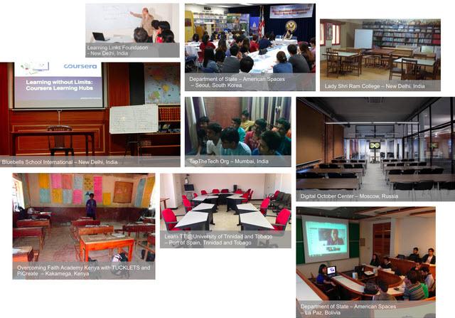 Aulas para clases virtuales
