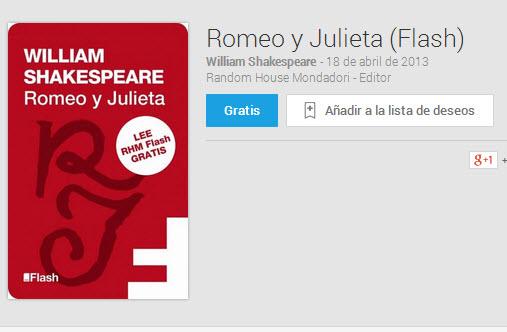 Libros gratis de Google Play Books