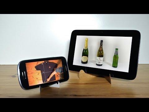 Hacer soporte de cartón para teléfonos y tablets en instantes [video]