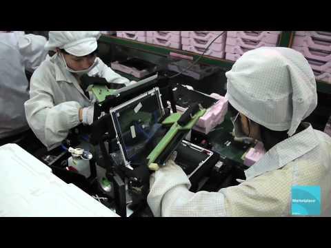 Mira como se fabrica un iPad en Foxconn [video]
