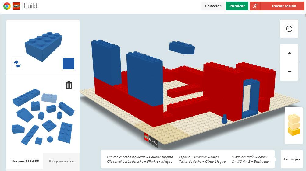 Construir casas con ladrillos lego online build with for Crear casa virtual