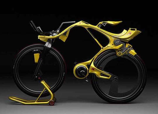 Diseño de bicicleta híbrida aerodinámica