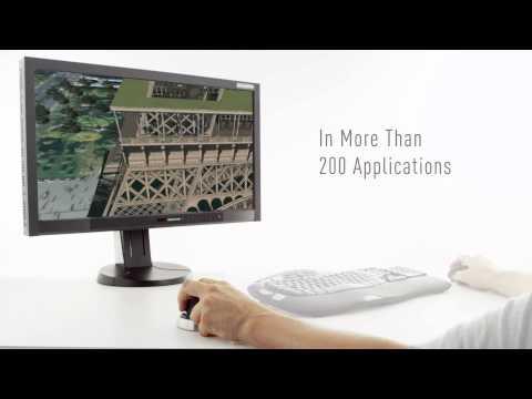 Mouse 3D inalámbrico 2014 especial para  diseñadores y arquitectos