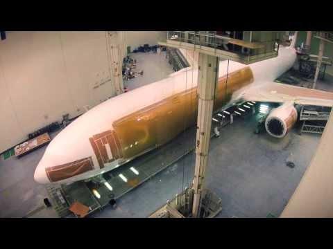 ¿Cómo se pinta un avión? vídeo de dos minutos para conocer proceso