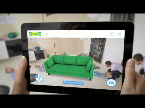 Compra muebles para casa a la medida usando realidad aumentada