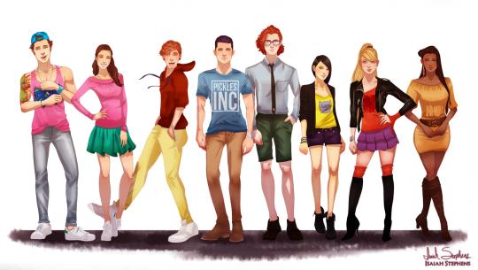 Rugrats adolescentes